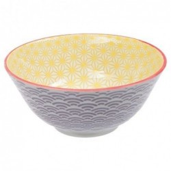 Bol Tayo - Tokyo Design - Star Wave Yellow Purple