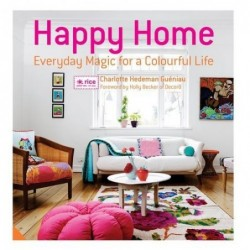 Livre Happy Home - Everyday Magic for a colorful life - Charlotte Hedeman Gueniau