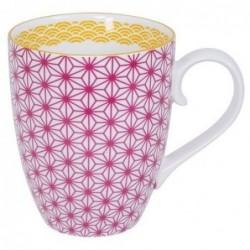 Mug - Tokyo Design - Star Wave - Pink