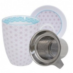 Mug couvercle et filtre - Tokyo Design - Star Wave - Purple