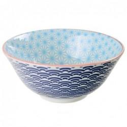 Bol Tayo - Tokyo Design - Star Wave Light Blue Dark blue