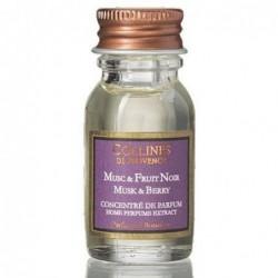 Concentré de parfum - Musc & Fruits noirs - Collines de Provence - 15 ml