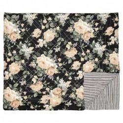 Couverture en coton - 180x230 - Josephine Black - Greengate