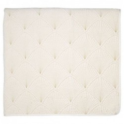 Couverture en coton - 140x220 - Victoria Gold - Greengate