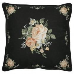 Housse de coussin - Greengate - Josephine Black - Bouquet
