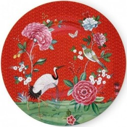 Assiette de présentation - Blushing Birds - Rouge - Pip Studio - 32 cm