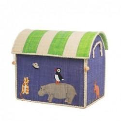 Maison Range jouet - Rice - Animal - Petit Modèle