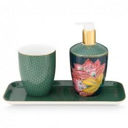 Coffret de 3 accessoires bain - Twinkle Star - Vert - Pip Studio