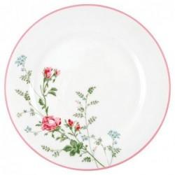 Grande assiette - Greengate - Constance white