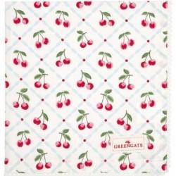 Serviette de table - Greengate - Cherie white