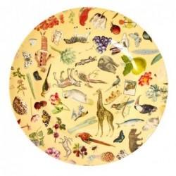 Assiette plate Mélamine - Rice - Joëlle Wehkamp - Crème Art - 25 cm