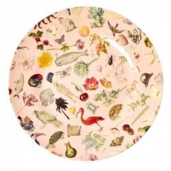 Assiette plate Mélamine - Rice - Joëlle Wehkamp - Pink Art - 25 cm
