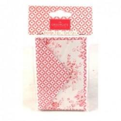 Cartes cadeaux avec enveloppes - Greengate - Abelone raspberry