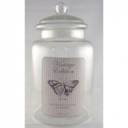 Bonbonnière en verre - Greengate - Butterfly warm grey