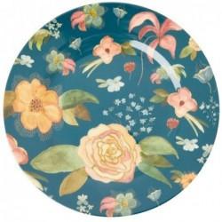 Assiette plate Mélamine - Rice - Selmas Fall Flower - 25 cm