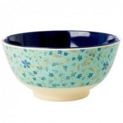 Bol Mélamine - Rice - Blue Floral