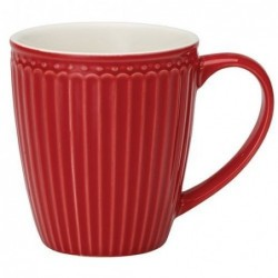 Mug - Greengate - Alice red
