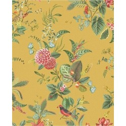 Papier peint Pip Studio - Floris Yellow - ref 300112