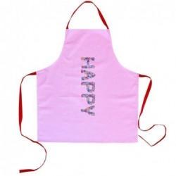 Tablier en coton - Rice - Happy pink