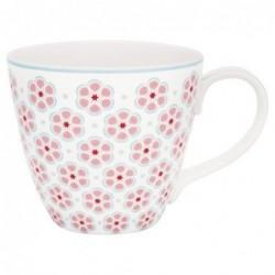 Mug - Greengate - Leah pale pink