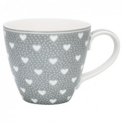 Mug - Greengate - Penny grey