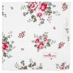 Serviette de table - Greengate - Elouise white