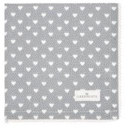 Serviette de table - Greengate - Penny grey