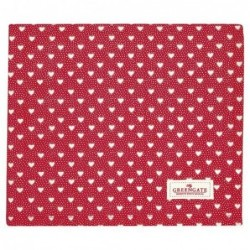 Nappe rectangulaire - Greengate - Penny red