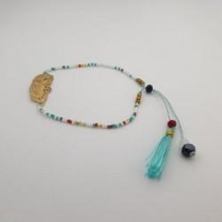 Bracelet perles Plume - Multicolore - Nusa Dua