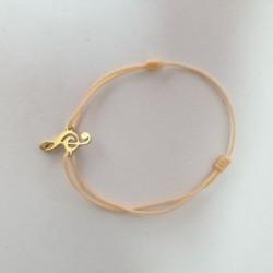 Bracelet Clé de Sol - Couleur peau - Nusa Dua