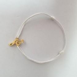 Bracelet Clé de Sol - Blanc - Nusa Dua
