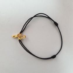 Bracelet Clé de Sol - Noir - Nusa Dua