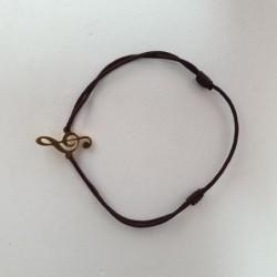 Bracelet Clé de Sol - Brun - Nusa Dua
