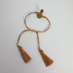 Bracelet Ananas - Brun - Nusa Dua