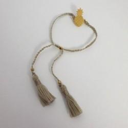 Bracelet Ananas - Gris - Nusa Dua
