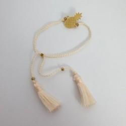 Bracelet Ananas - Blanc - Nusa Dua