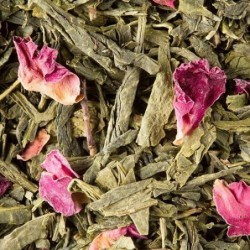 Thé vert parfumé - Dammann Frères - Cerisier de Chine - 100g