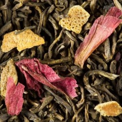 Thé vert parfumé - Dammann Frères - Thé des Riads - 100g