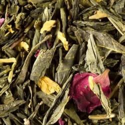 Thé vert parfumé - Dammann Frères - Thé des deux chinois - 100g