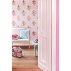 Papier peint Pip Studio Shabbychic - Rose - ref 313003