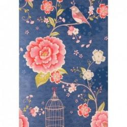 Papier peint Pip Studio birds in paradise - bleu - ref 313015