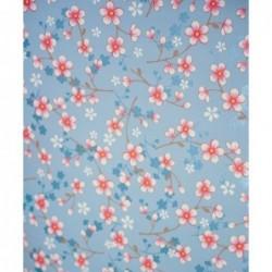 Papier peint Pip Studio Cherry Blossom - Bleu - ref 313021