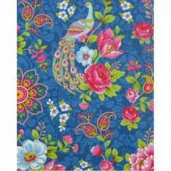 Papier peint Flowers In The Mix - Bleu - ref 313054