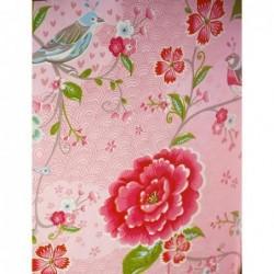 Papier peint Pip Studio birds in paradise - Rose - ref 313010