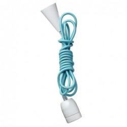 Suspension lampe ampoule - Bloomingville - Bleu