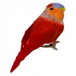 Oiseau Pince - Rice - Rouge