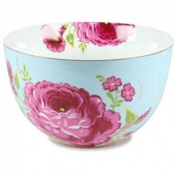 Saladier floral Pip Studio - Bleu