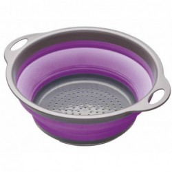 Passoire pliante à poignées - Kitchen Craft - Violet
