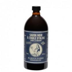 Savon noir à l'huile d'olive - 1l - Marius Fabre