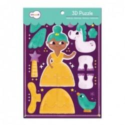 Puzzle 3D - Princesse